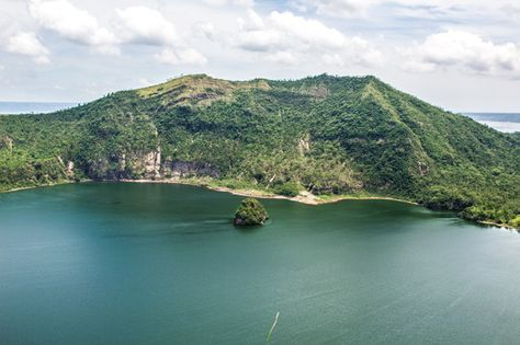 Hiking Taal Volcano