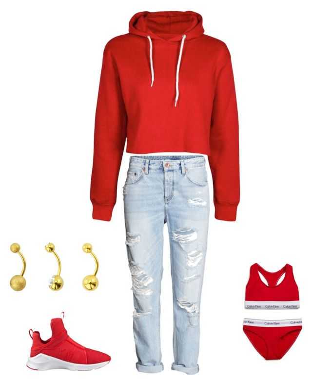 """""""Chill"""" by jnbell on Polyvore featuring Puma and Calvin Klein Underwear"""