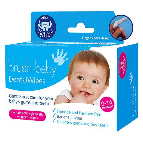 useful for out and about and early teething. you can just use sterile water with a clean muslin cloth. it clears the bacteria that causes the little ones pain in the gum walls