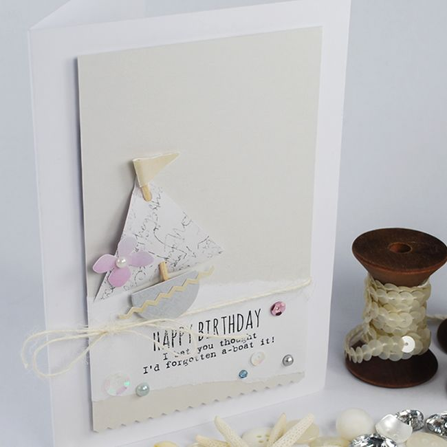 Marshmallow Pattern Paper Pack & Little Pearls Of Wisdom Sentiment