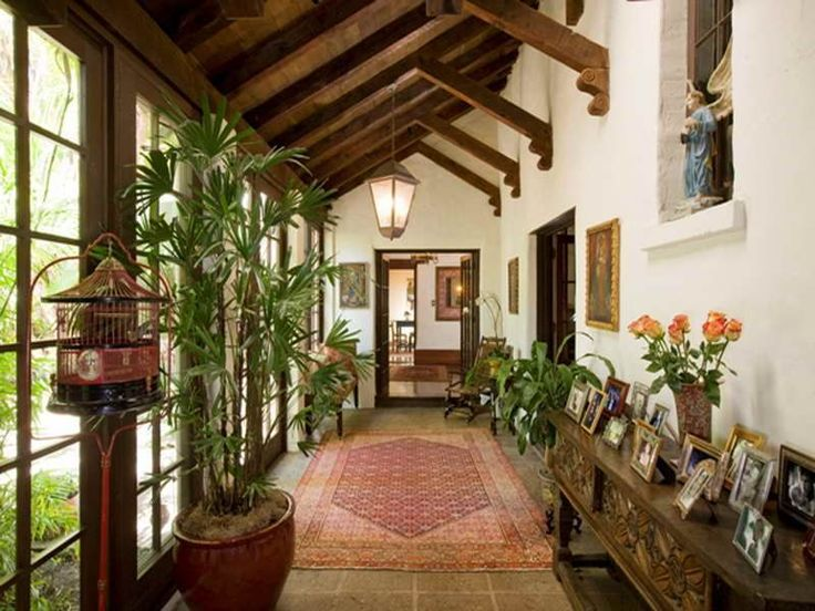 Best 25 spanish patio ideas on pinterest spanish style Hacienda house plans with courtyard