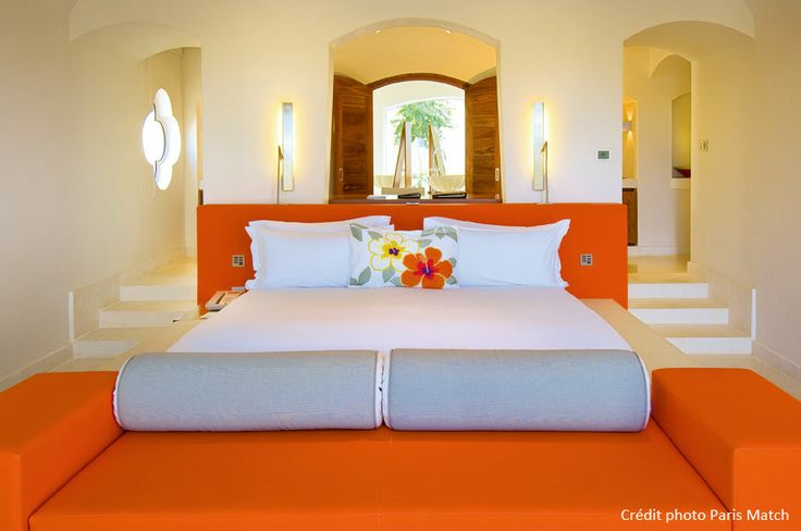 Sofitel Bel Ombre Ile Maurice - coussins chambre