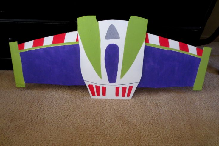 DIY Buzz Lightyear Wings