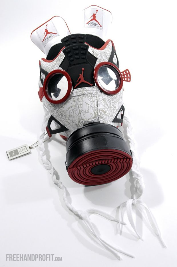 air jordan IV gas mask