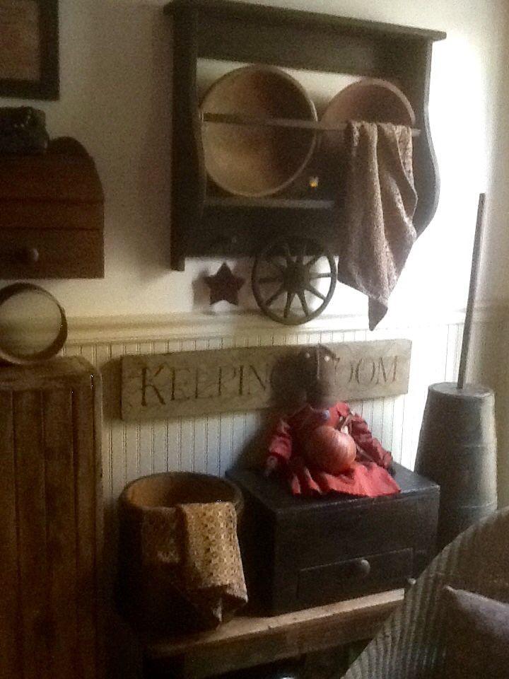 Vintage furniture with primitive doll 90 best