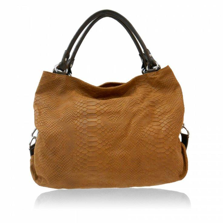 Γυναικεία δερμάτινη τσάντα Κωδικός 108-48