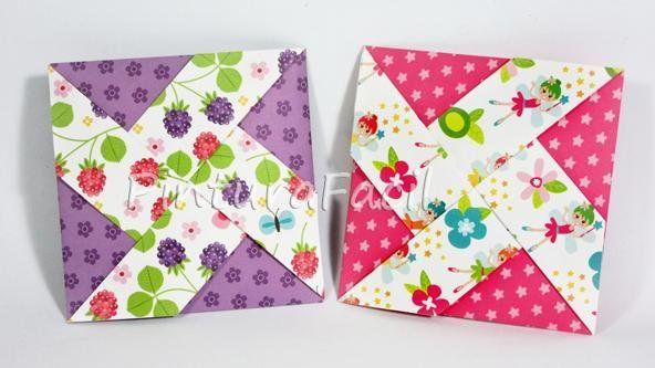 Tarjetas de origami para regalar y sorprender