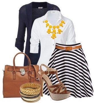 5 #outfits con prendas de #rayas que no puedes dejar de #usar