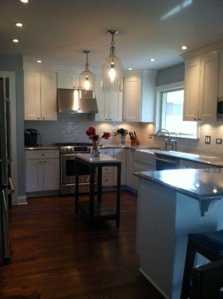 23 best images about split foyer entry interior on pinterest for Split foyer kitchen ideas
