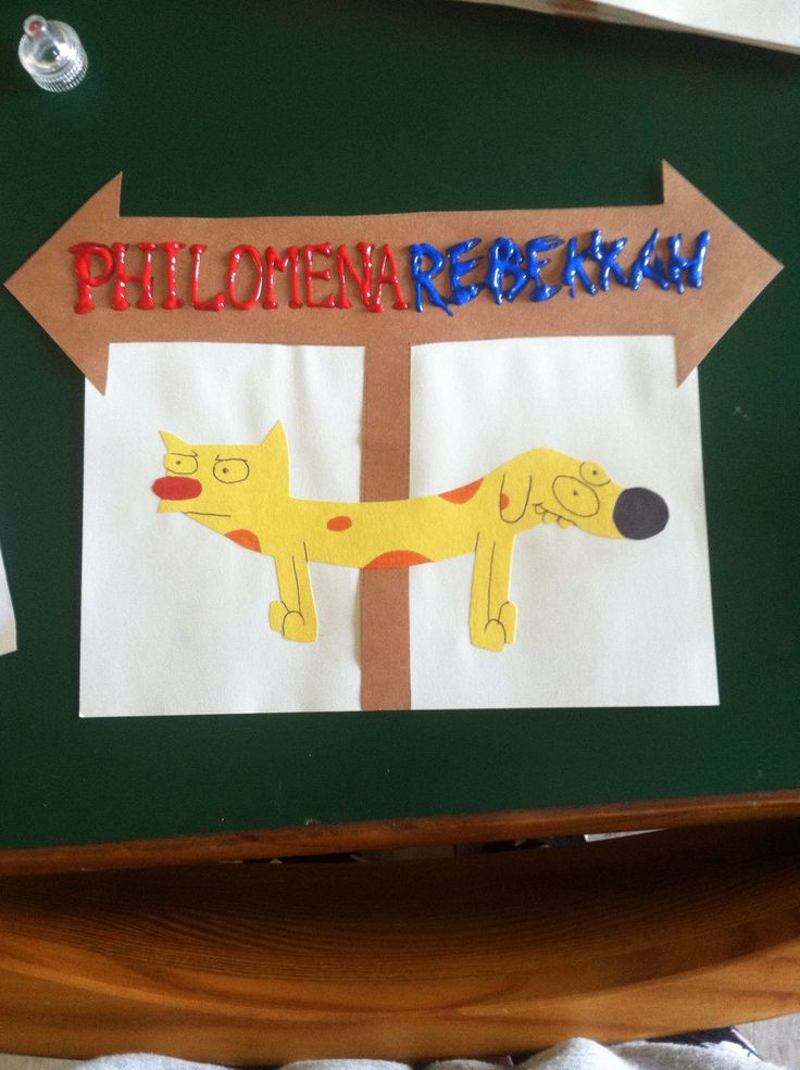 Catdog Door Decorations For Roommates Residencelife