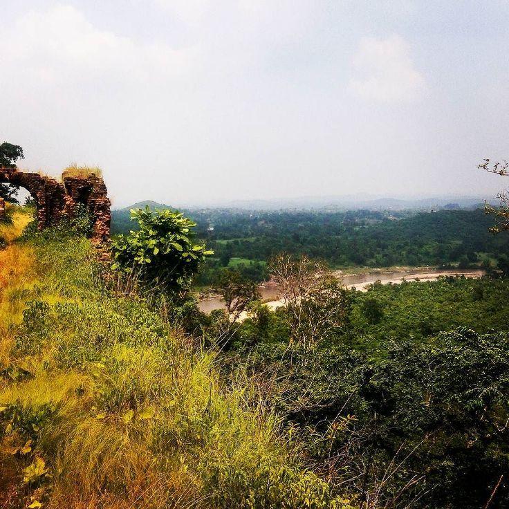 Auranga river behind the palamu fort Latehar #incredibleindia