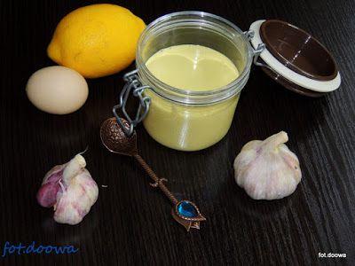 Moje Małe Czarowanie: Aioli - majonez czosnkowy - Majonese All'aglio