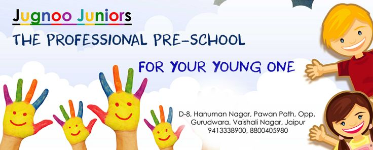For many children, the long journey that is education does not only start when they enter school. It begins at home, and for many children some time between 5 months and 3 years, it continues in nurseries or pre-schools. Here Jugnoo Juniors offer an enjoyable and smooth transition from toddlerhood to the Reception classes at primary school. Address: D-Hanuman Nagar, Pawan Path,Opp Gurudwara Vaishali Nagar, Jaipur Call: +91-9413338900 #jugnoo #juniors #Pre #primary #play #school #kids…