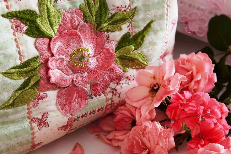 Pretty Lottie's Poppies designs - beautiful pink. www.jennyhaskins.com