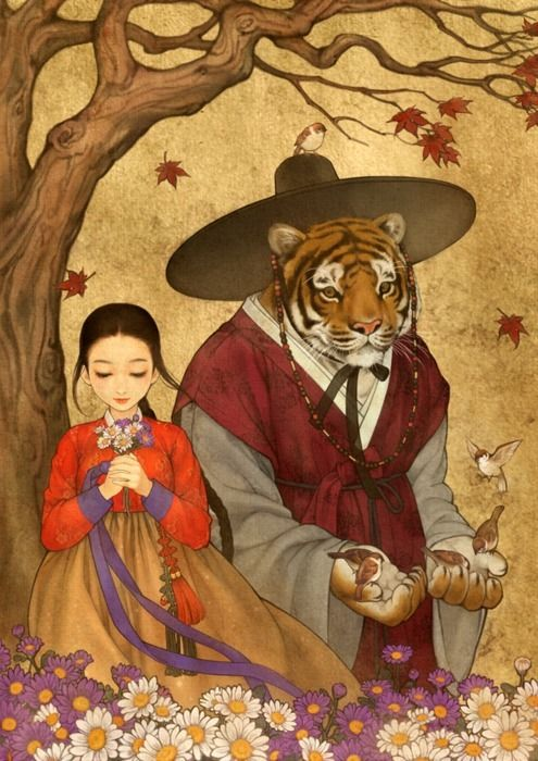 Korean take on Beauty and the Beast.