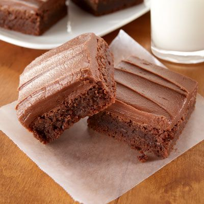 These brownies are extra gooey and chewy with the addition of chocolate chips and nuts.
