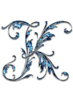 Carta, Carta K, K, Initials, Fuente