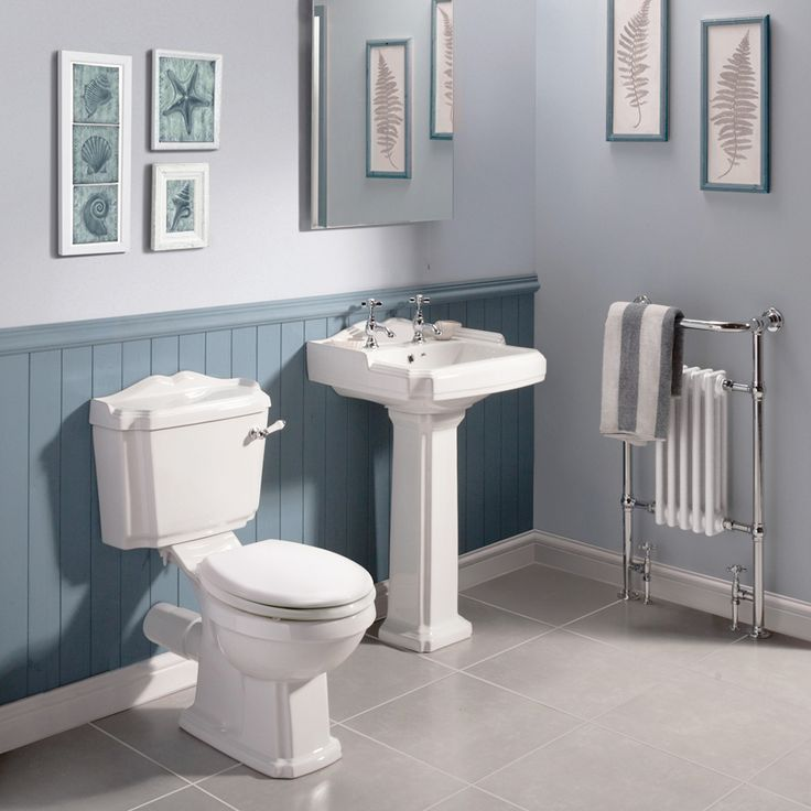 Oxford Traditional Free Standing Roll Top Slipper Bath Suite  Profile Large Image