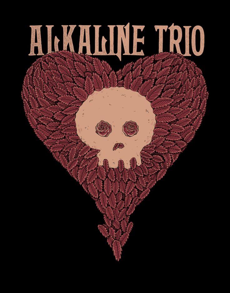 ALKALINE TRIO SHIRTS - Sam Dunn