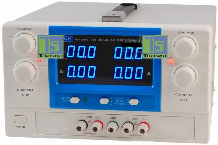 Zasilacz #laboratoryjny #QD305 2x30V/5A do pracy ciągłej.  http://programatory.pl/profesjonalny_zasilacz_serwisowy.html