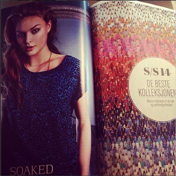 Soaked in Luxury top in norwegian magazine Det Nye