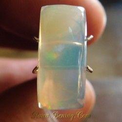 Batu Mulia Asli Neon Opal Rectangular 2.50 Carat