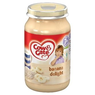 Cow & Gate Baby Balance Stages 2 & 3 Banana Delight 200g