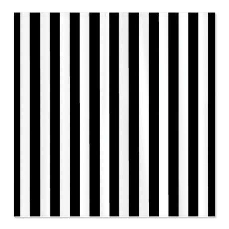 Image Black And White Striped Shower Curtain Download