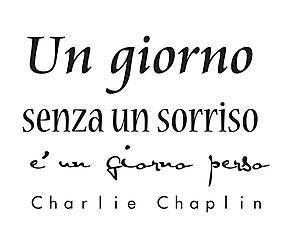 Adesivo in vinile Charlie Chaplin - 60x60 cm