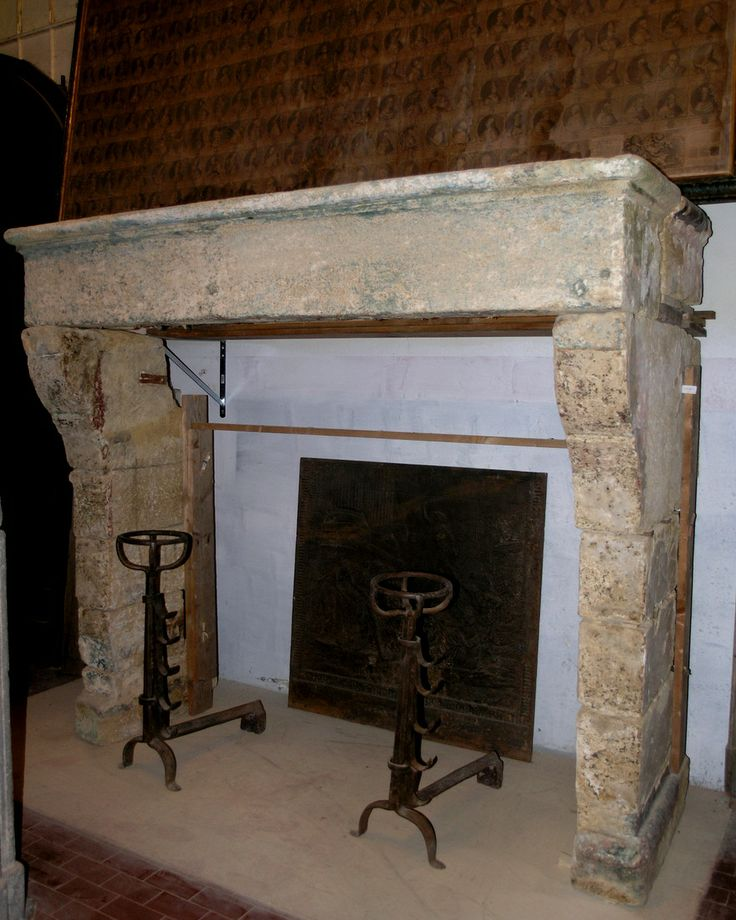 chp194 camino in pietra di Borgogna,mis.cm 205 x h cm 174 p.80/90 - SIMONE…