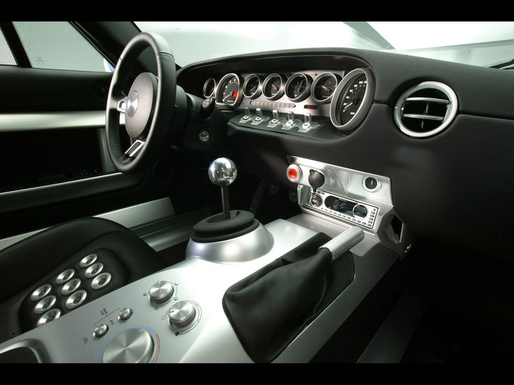2005 ford gt interior - 1966 Ford Gt40 Interior