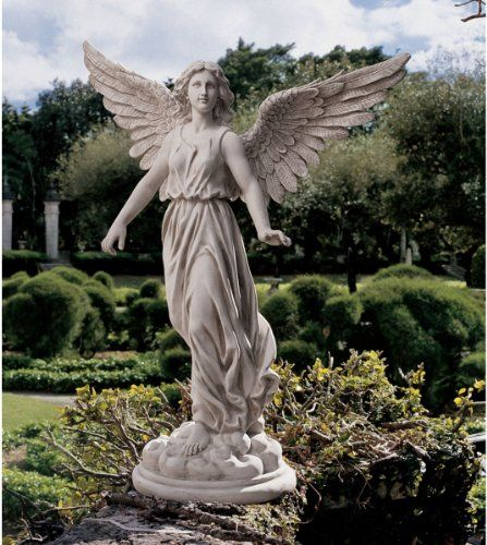 Angel Of Patience Sculpture. By Artist Candice Pennington. Every Angelic  Detail Of This Majestic Sculptural Figurine Has Been Captured In Quality  Designer ...
