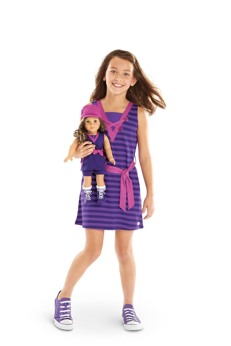 NEW! BeForever Special-Edition Sets Rebecca's Seashore Set + Seashore Stripes Dress for Girls