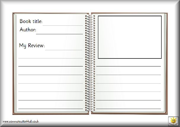 Book Review Template Book Review Templates Pinterest - printable book review template