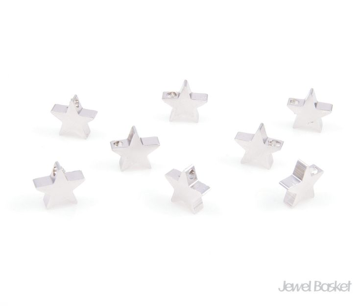 Thanks for the great review Jessica S. ★★★★★! http://etsy.me/2n3F0tJ #etsy #supplies #silver #jewelrymaking #brass #starbead #beads #ministar #tinystar #star