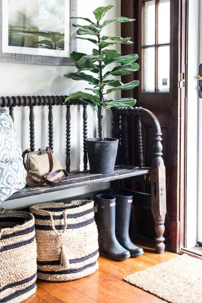 Summer Entry I Finding Silver Pennies Spindle Bench
