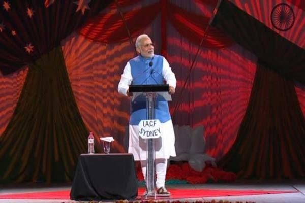 Narendra Modi Updates: Modi Address at Allphones Arena http://www.bangalorewishesh.com/378-news-headlines/36940-narendra-modi-updates-modi-address-at-allphones-arena.html  Narendra Modi Australia Visit Updates: India Prime Minister Narendra Modi called up every Indian all around the world to convert the atmosphere of hope and optimism into a real expectations and aspirations of India`s people.