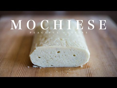 Mochiese (vegan cheese) ☆ モチーズの作り方 - YouTube