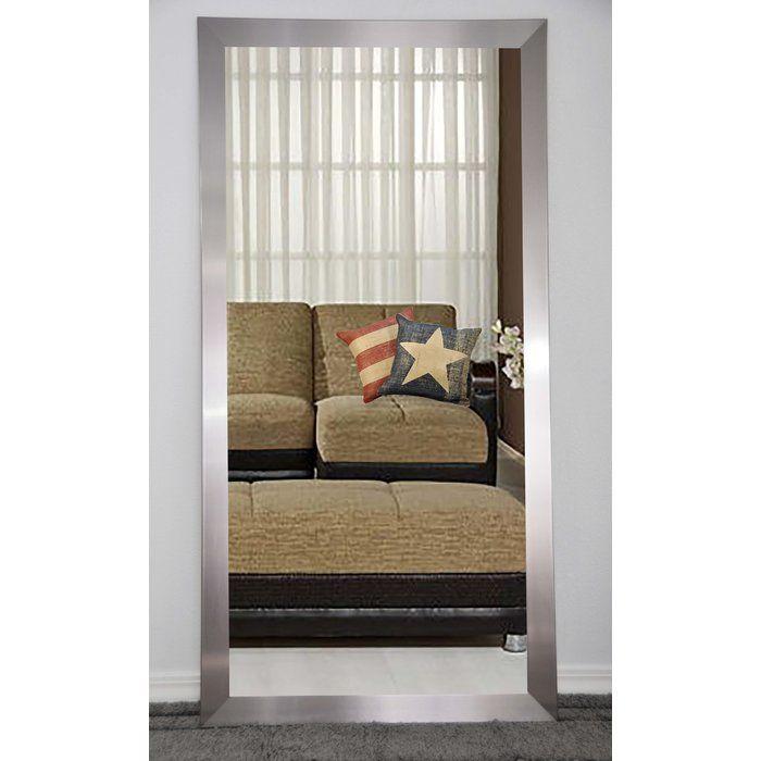 Rectangle Nickel Wall Mirror