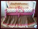 pink+sock+monkey+nursery | Sock Monkey Crib Bedding Set if we have a girl