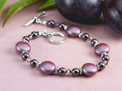 Free Ideas: Artbeads.com - Plum Passion