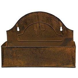 Farmhouse Mailbox Bin