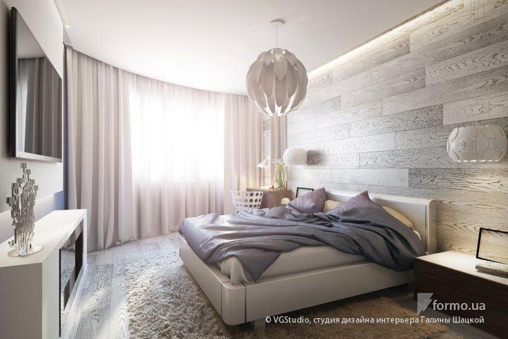 Спальня с камином в стиле минимализм, VGStudio, студия дизайна интерьера Галины Шацкой, Спальня, Дизайн интерьеров Formo.ua