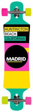Madrid Rapid longboard