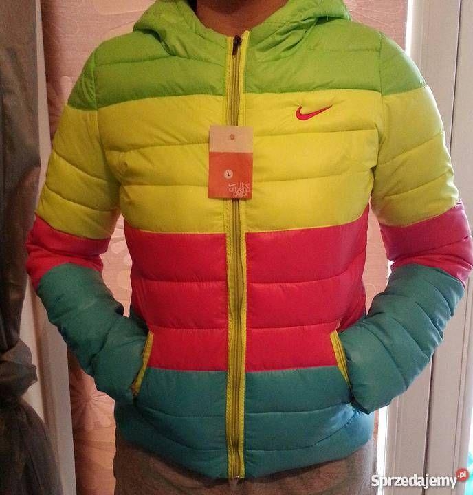 Kurtka Damska Neon Nike  #okazja #okazje #nike