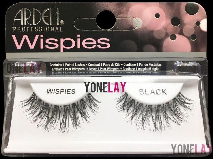 4 Pairs Genuine Ardell Wispies Black False Eyelashes Fake Lashes Fashion Wispy