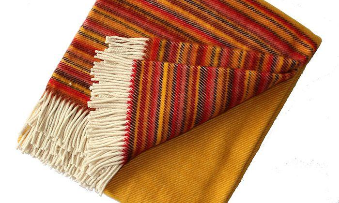 Tkalcovna vyrábí bytový textil z přírodních materiálů