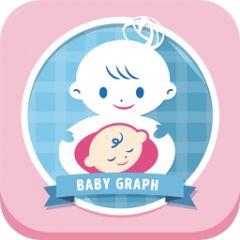ベビーグラフ - 胎児の発育状態と発育基準値をグラフで簡単チェック! 出産予定日までのカウントダウン、ママの体重管理もひとつのアプリで!