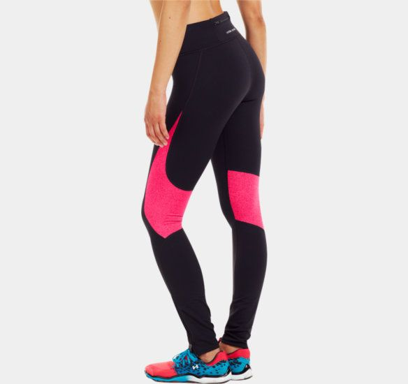 [GEAR]  Women's UA ColdGear® Run Tight ... with zippers!  ||  Running pants for COLD weather