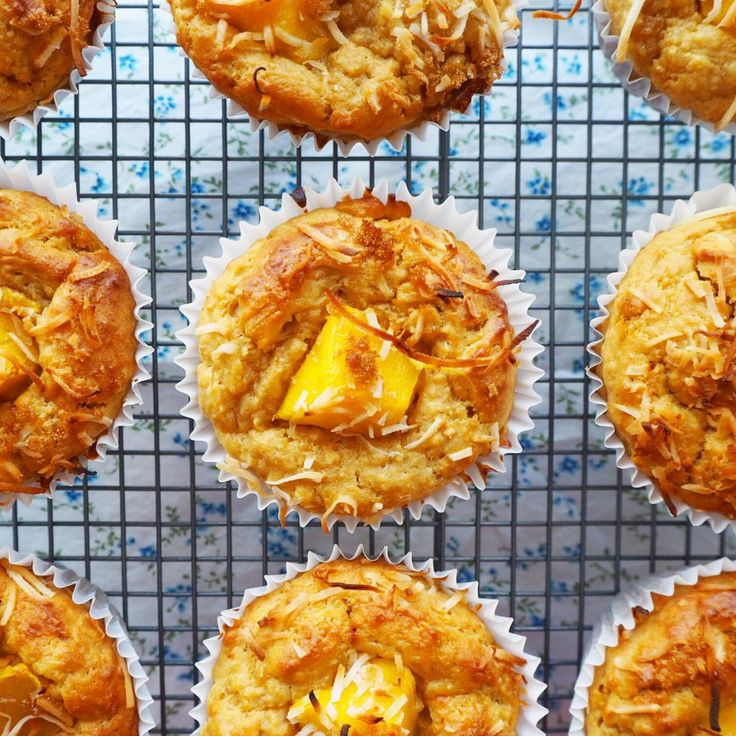 mango breakfast muffins
